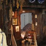 inside early farmhouse