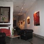 Art Hotel lobby area