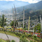 view of thimpu from bbs tower