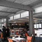 Exterior del bar-restaurante