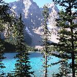 Moraine Lake from room