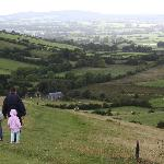 Ireland: co. Meath - Loughcrew - View from Slieve na Caillaigh