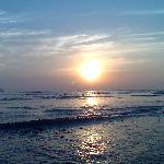Beach near dona paula (mira mar beach)