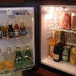 The Club Deluxe room - The minibar
