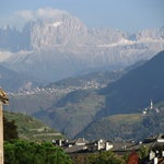 View of Dolomites from Bolzano