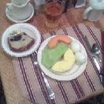 Hotel's Veg Breakfast