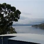 Morning river views from Peter Bennett Cottage