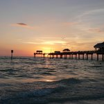 sunset at Clearwater Beach