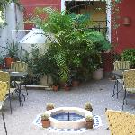 Breakfast area at Julamis
