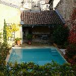 Villa Agape pool and gardens