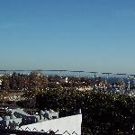 View of Coronado Bridge from USS Midway