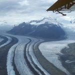 Glacier on way to Kennicot Lodge