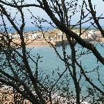 View of St Ives from the coast path