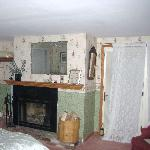 View of Room #10 - Fireplace