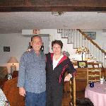 Ed et Anne Marie des hôtes adorables