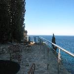 Terrasse de l'hotel