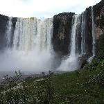 Aponwao waterfall 110m high