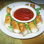 Mozzarella stix with marinara sauce at the Boat House in Kenosha