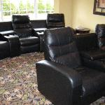 Chairs in Theatre Room