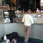 inside cafe shop