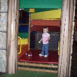 my 2 yr old in the playplace