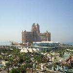 The hotel viewed from Aquaventure