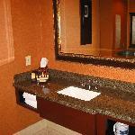Bath vanity area.