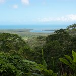 Lookout at the start of the Daintree