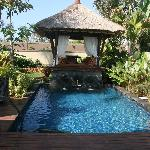 my private pool and bali bengong