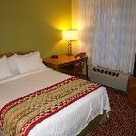 Bedroom in the 1 bed suite