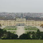 Schonbrunn Palace a few minutes away