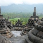 Borobodur Buddhist Temple Java