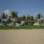 Sunbaking on the beach