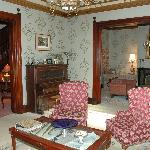 Parlor and drawing room