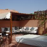 sofás de la terraza