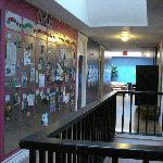 Hallway w/ bulletins