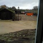 View of the skip