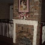 Upstairs Fireplace.
