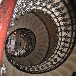 Stairway looking down