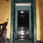 Entryway to 2nd floor