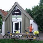 habitación y las bicis