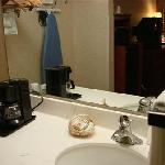 Sink and Coffee Area