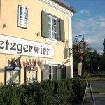 Outside Metzgerwirt Restaurant