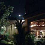 Kartik Purnima Full Moon over the hotel