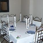 table préparé par Najia