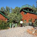 Whimsical Log Home