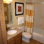 Bathroom in one bed suite