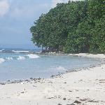 No 7 beach - 75 metres away