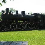 Steam train Wakefield