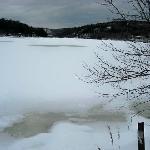 winter view of wakefield